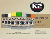 COLOR FLEX Guma w sprayu K2 CZERWONA 400 ML